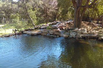 Natural swimming pond whimberly texas