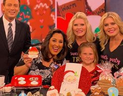 Such a privilege to do a holiday cookie decorating segment for KTLA's morning news 12/8/18.
