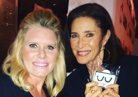 I enjoyed meeting the great, Mimi Rogers at the