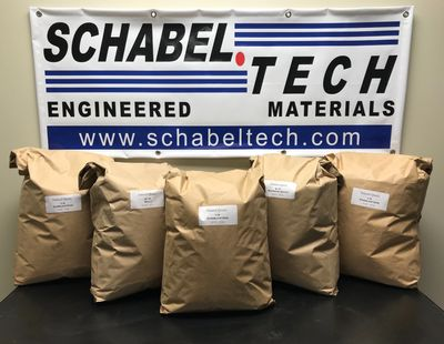SchabelTech Washed, Dried and Bagged Sand and Pea Gravel in 50 pound paper bags