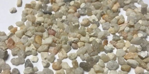 SchabelTech Supreme White Pea Gravel, washed and dried in 50# bags