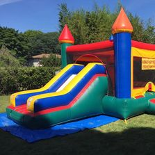 Bounce House Slide castle