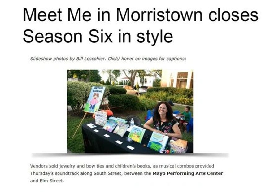 Meet me in Morristown Event