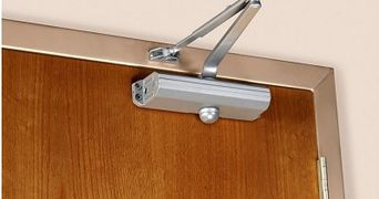 Door closers and hinges