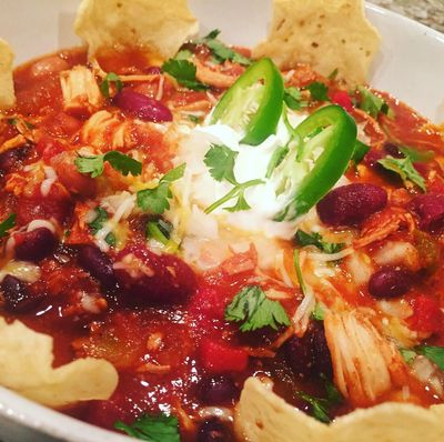 Alexia's amazing Crock-Pot Chicken Chili!