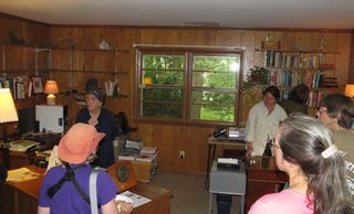 Education event in the Rachel Carson House in the NW Branch watershed.
