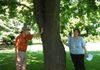 Joe Howard, founder of Montgomery County's Champion Tree Program, led NNWB members on a tour of impressive trees in the NWB watershed.