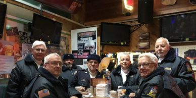 (L-R) Don Mumford, Bob Vanselow, Rob Hamby, Bob Clement, Ed King, Mike Matusewic, Dennis Roth