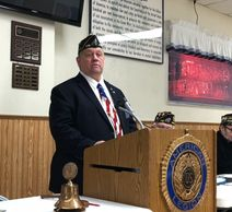Commander of Post 416 Tim Baranzyk