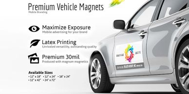 ROC Photographic Printing Vehicle Magnets