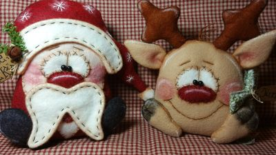 Little Nicky and Junior Flyer Rudolph Prim Dolls