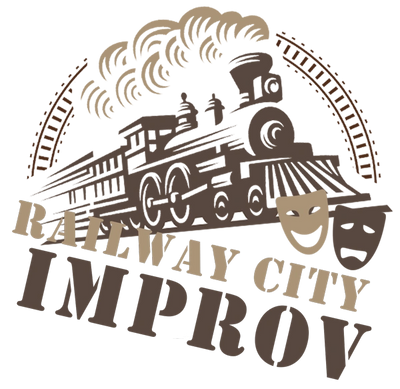 Railway City Improv Logo