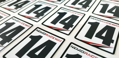 CUSTOM RACE NUMBERS FOR YOUR CLUB