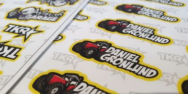 custom name decal with graphic sheet for your remote controlled models