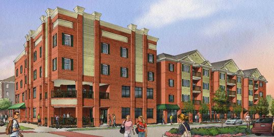 Tyler place multi use commercial residential complex