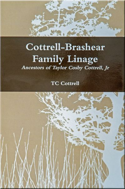 Cottrell-Brashear Family Linage Book Cover
