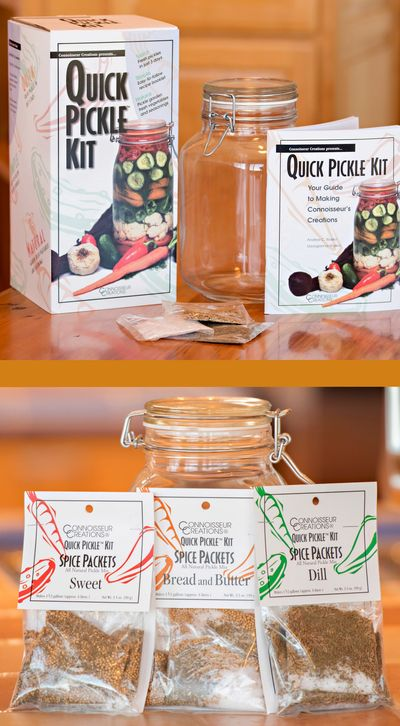 Quick Pickle Kit + Spice Packets
