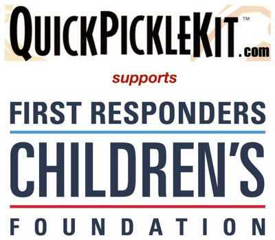 Quick pickle kit first responder logo