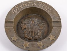 4 Star Admiral and Commander-in-Chief of the U.S Atlantic Fleet, Admiral Ernest J. King's ashtray.