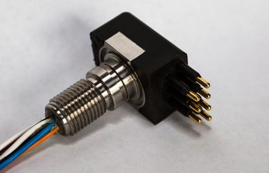 low profile underwater connector