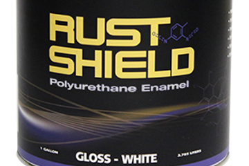 Polyurethane Paint and Rust Shield