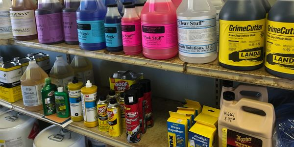 Car Detailing Products - Chemicals - Detergents