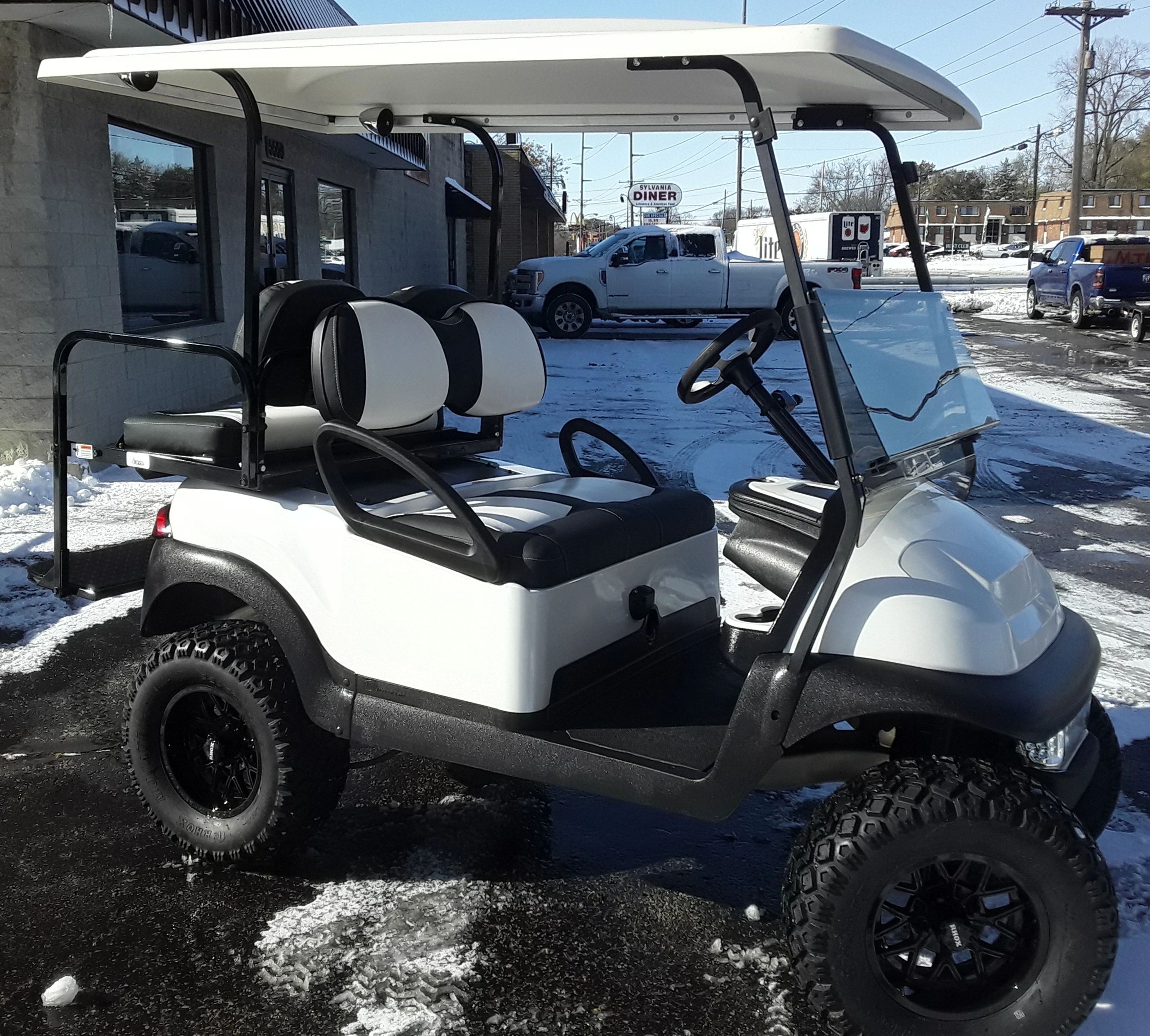 Lifted Golf Cart, Club Car Precedent, Custom Golf Cart, Fantasy Custom Golf Carts