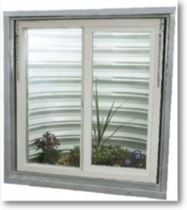 All our basement windows are made of solid vinyl that never cracks, fades, rusts or needs painting.