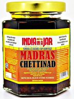 MADRAS CHETTINAD BY INDIA IN A JAR MADRAS CURRY PASTE WITH RECIPE - SERVES 6 TO 8