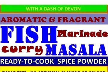 Indian Spice Powder to prepare a Medium spiced Fish Curry and a grilled Fish marinade.