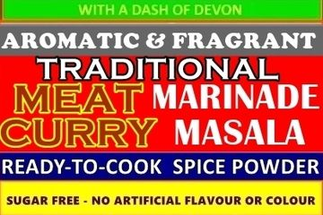 Traditional Meat Curry Powder Blend and Marinade This AROMATIC AND FRAGRANT LOW FAT MEDIUM MEAT