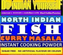 NORTH INDIAN FISH CURRY MASALA BY DIY DO INDIAN YOURSELF WITH RECIPE - SERVES 6