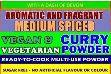 This cooking powder is 100% Plant-based, Sugar-Free, No artificial flavours, 100% Vegan