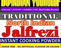 TRADITIONAL NORTH INDIAN JALFREZI SPICE POWDER BLEND BY DIY DO INDIAN YOURSELF WITH RECIPE-SERVES 6