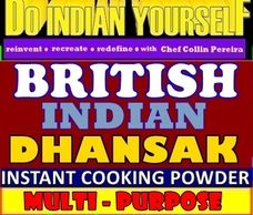 British Indian Dhansak Curry by DIY Do Indian Yourself from India in a Jar by Chef Collin Pereira