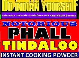Notorious Phall Tindaloo Spicy Curry by India in a Jar DIY Do Indian Yourself by Chef Collin Pereira