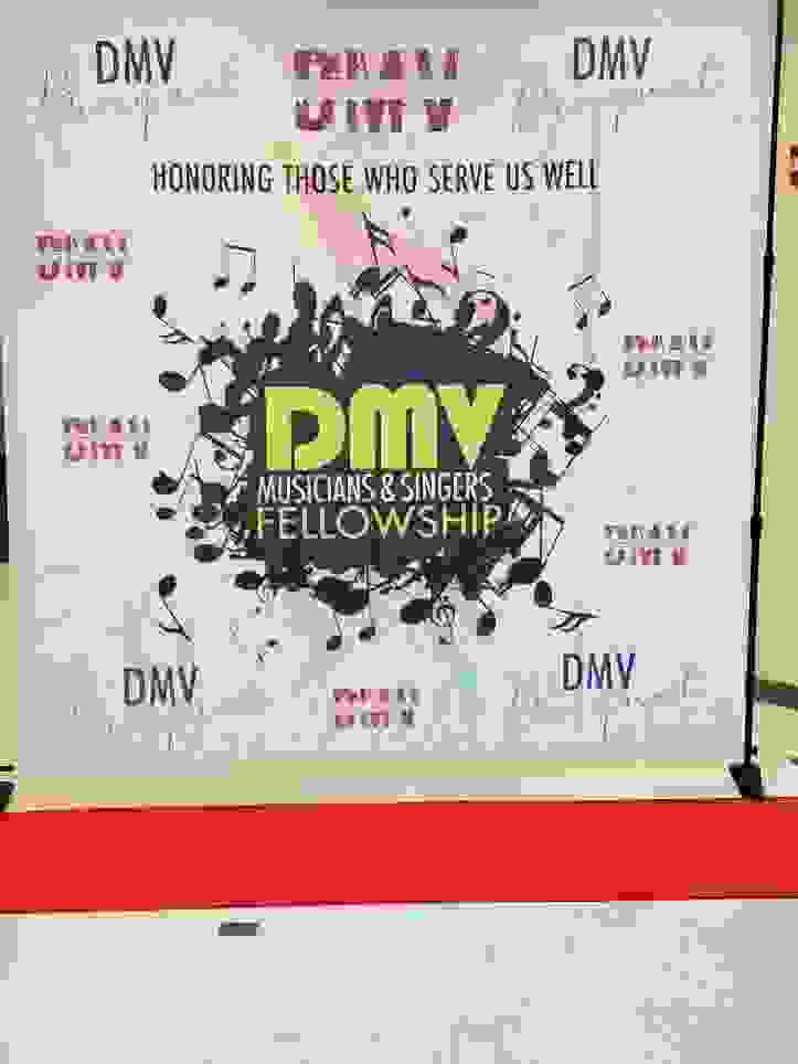 DMV Musicians and Singers Fellowship Banner