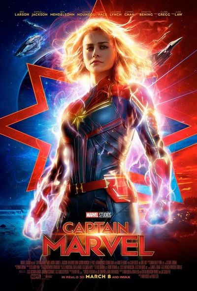 Click to read my review of Captain Marvel