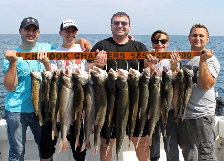 Lake Ontario Fishing - Chinook Charters - Rochester NY