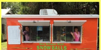 Snow Balls for parties and events! MLRmagic.com Lafayette La