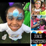 Face Painter for Birthday parties and company events! MLRmagic.com Lafayette La Magician, Balloons