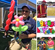 Balloon Artist, Balloon Animals for birthday party and company events! MLRmagic.com Lafayette La