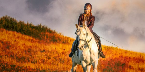 horse rider photography photoshop layers white sunset girl