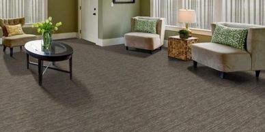 Low profile durable carpet