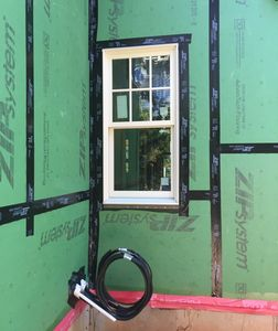 Proper flashing at windows, doors, and wall penetrations help prevent problems like mold and rot.
