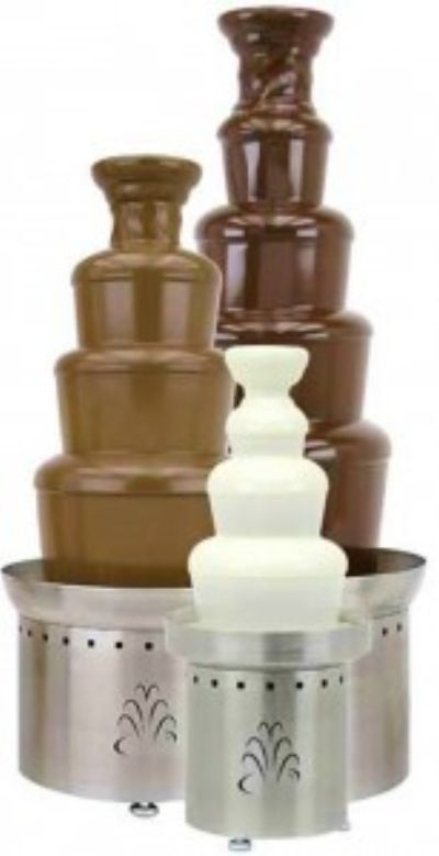 Chocolate Fountain Rentals - Sark & MIlk Chocolate