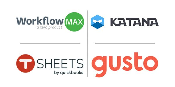 Xero add on solutions. WorkFlow Max, Katana and Gusto Payroll, Mountain 42, Jacksonville Florida
