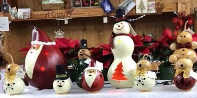Christmas decorations, seasonal gifts, gourd decorations