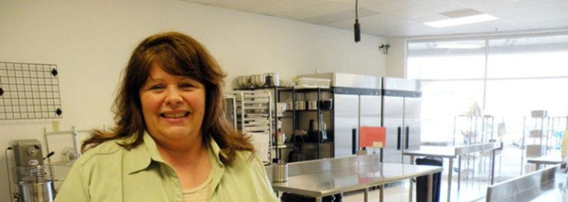 Anna Marie Cattarin at Creative Chef Kitchens .  JULIE HUSS/Staff photo Derry News