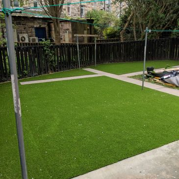 artificial grass installation edinburgh